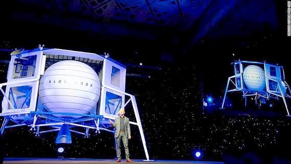 Nhà sáng lập Amazon muốn chinh phục Mặt trăng