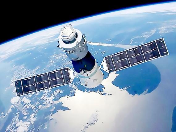 Trạm không gian Trung Quốc sắp rơi