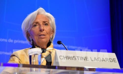 Tổng Giám đốc Quỹ Tiền tệ quốc tế (IMF) Christine Lagarde. Nguồn: TTXVN