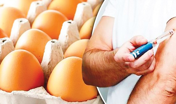 Người bệnh tiểu đường không cần kiêng trứng