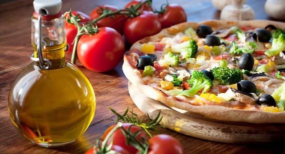 Bánh pizza lành mạnh