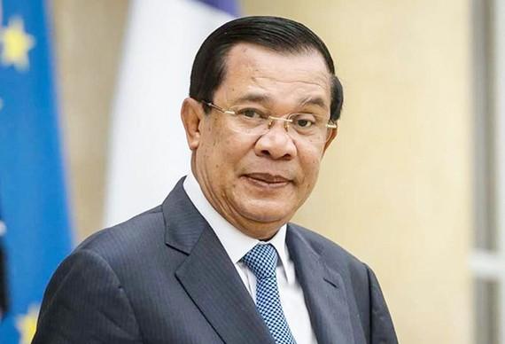 Ông Samdech Techo Hun Sen