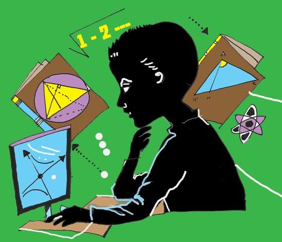 Học toán và giỏi toán