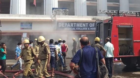 Nơi xảy ra vụ cháy. Nguồn: Indiatoday