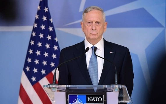 Bộ trưởng Quốc phòng Mỹ Mattis