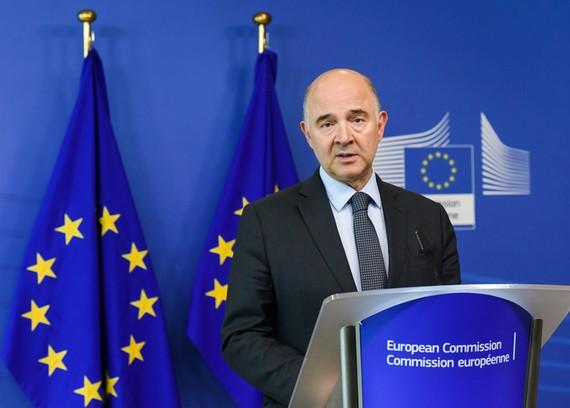 Ông Pierre Moscovici - Ủy viên phụ trách Kinh tế của Liên minh châu Âu