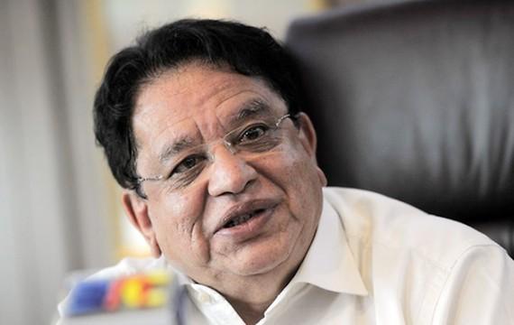 Cựu Bộ trưởng Lãnh thổ Liên bang Malaysia Tengku Adnan Tengku Mansor