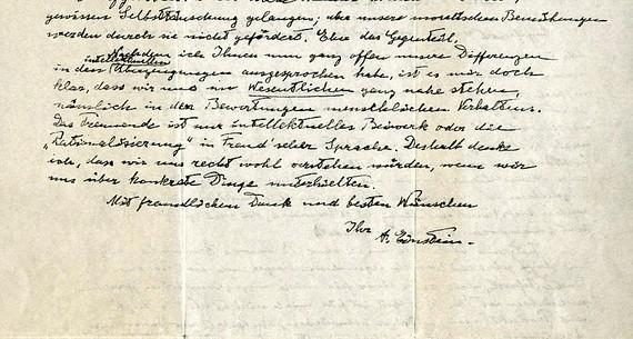 Bức thư của Einstein bán gần 2,9 triệu USD
