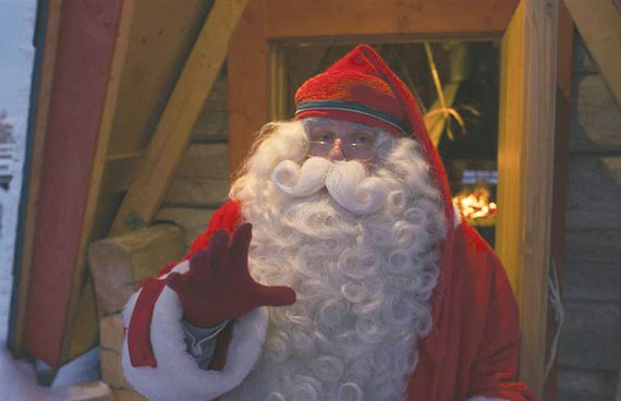 Ông già Noel bắt đầu hành trình phát quà