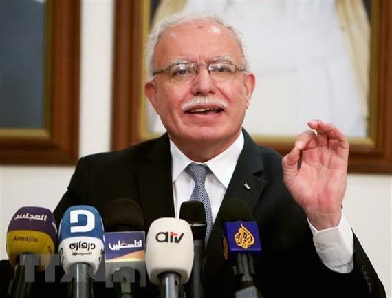 Ngoại trưởng Palestine Riyad al-Malki