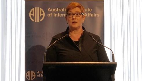Ngoại trưởng Australia Marise Payne.