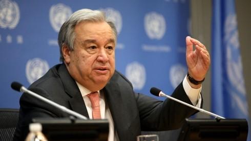 Tổng thư ký Liên Hợp Quốc Antonio Guterres. Ảnh: NPR