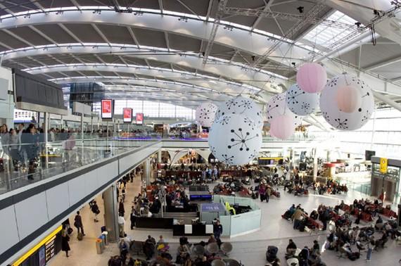 Năm 2018, hơn 2,3 tỷ lượt hành khách đến sân bay châu Âu