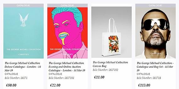 Đấu giá trực tuyến bộ sưu tập cá nhân của George Michael