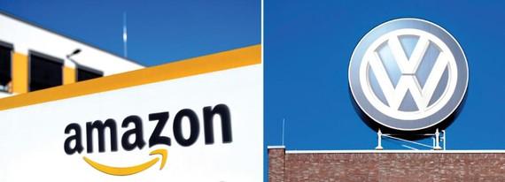 Volkswagen hợp tác với Amazon