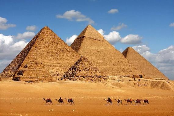Phát hiện lăng mộ pharaoh gần quần thể kim tự tháp Giza