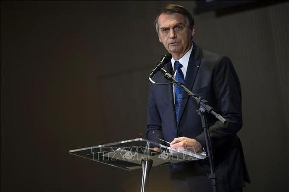 Tổng thống Brazil Jair Bolsonaro