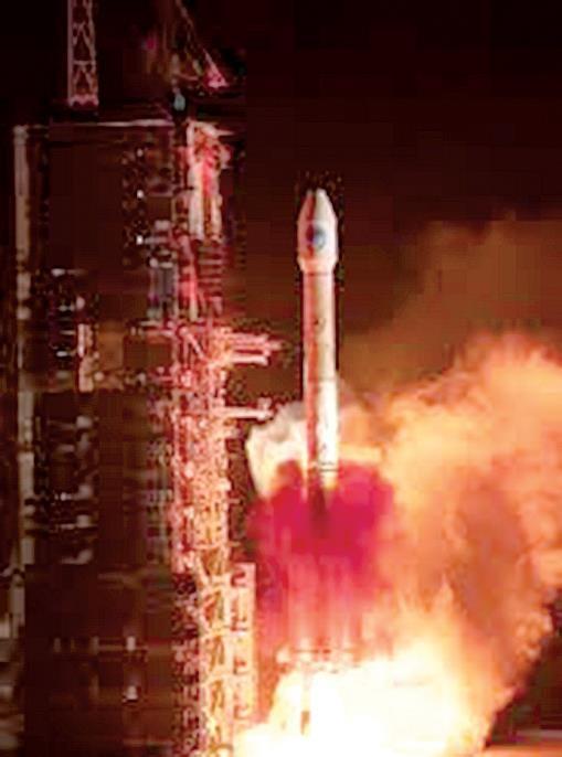 Trung Quốc phóng vệ tinh dẫn đường Bắc Đẩu