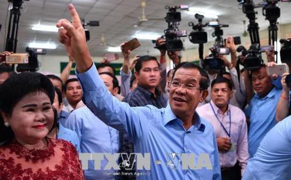 Đảng Nhân dân Campuchia của Thủ tướng Samdech Techo Hun Sen đã giành đa số phiếu trong trong cuộc bầu cử hội đồng địa phương diễn ra ngày 26-5