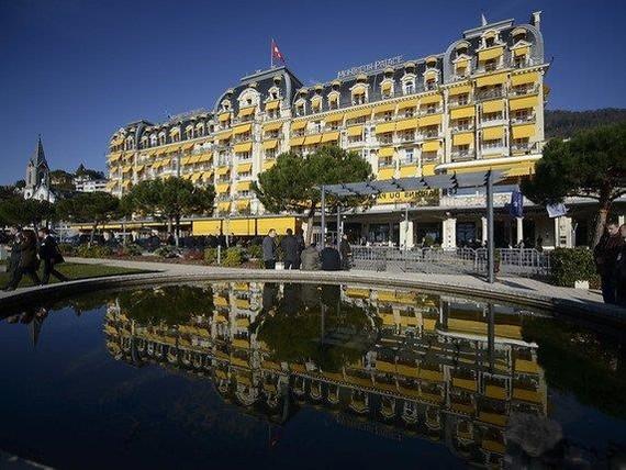 Khách sạn Montreux Palace sẽ là nơi diễn ra hội nghị. Nguồn: La Liberti