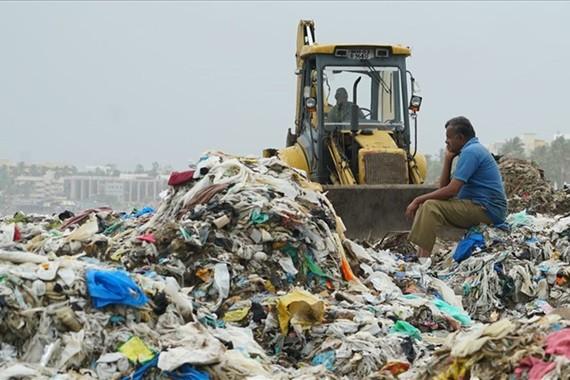 Rác thải nhựa từ đồ ăn trực tuyến