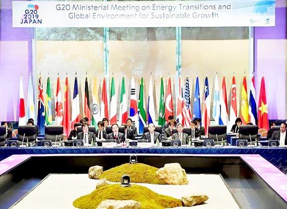 Cuộc họp các bộ trưởng năng lượng và môi trường của G20 ngày 15-6