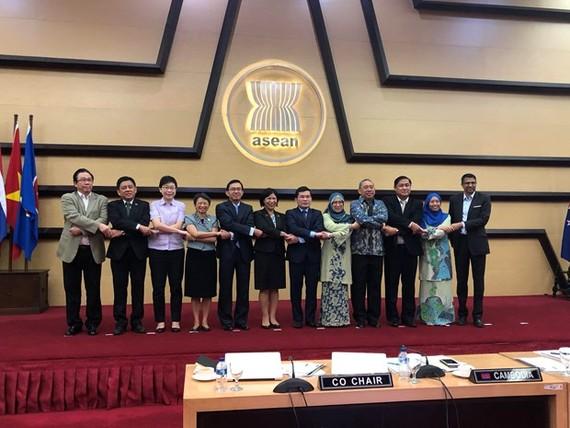 Các đại biểu tại cuộc họp. Nguồn: Phái đoàn Việt Nam tại ASEAN