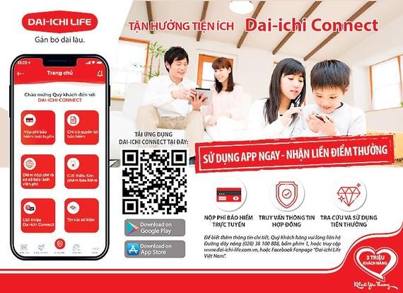 Ra mắt ứng dụng hiện đại Dai-ichi Connect