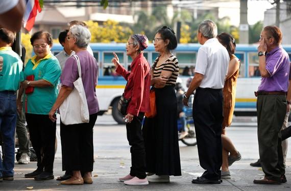 Tới năm 2030, hơn 1/4 dân số Thái Lan sẽ là những người trên 60 tuổi