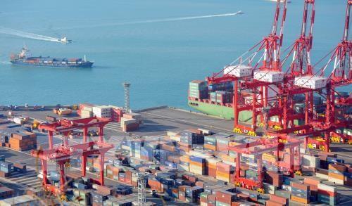 Cảng hàng hóa Busan, Hàn Quốc