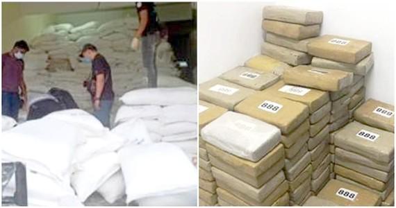 Malaysia thu giữ lượng ma túy kỷ lục