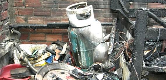 Hiện trường vụ nổ bình gas với hậu quả thảm khốc tại nhà dân ở ngõ 22 Tạ Quang Bửu (TP Hà Nội) cuối tháng 7 vừa qua