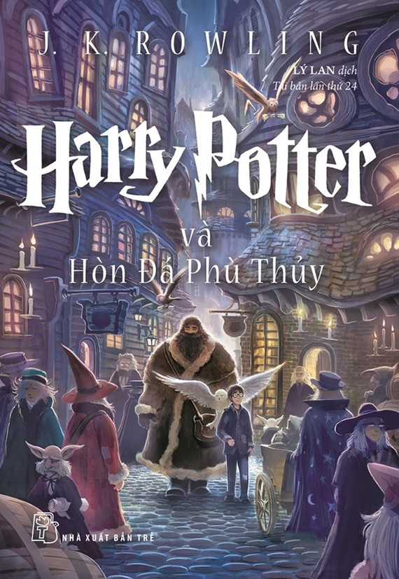 Cover of the Vietnamese version of Harry Potter and the Philosopher's Stone. — Photo courtesy of British Council Attachments area
