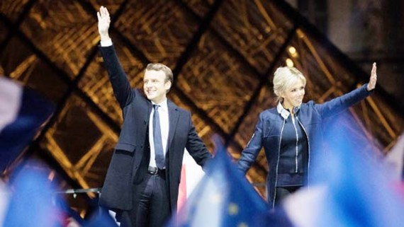 Emmanuel Macron has been elected French president in a resounding victory over Marine Le Pen.