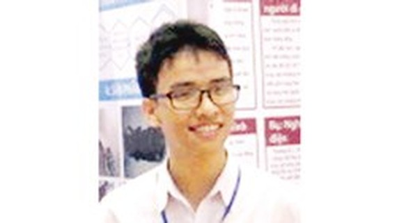 Vietnamese student honored at ISEF 2017