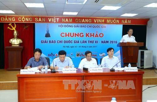 Meeting of the jury council  (Photo: VNA)