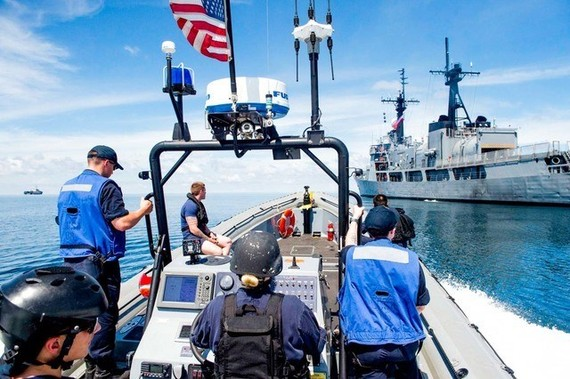 US, Philippines hold joint patrol (Source: rappler.com)