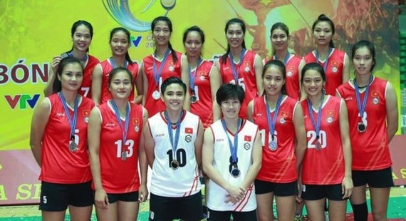 Vietnam women's Volleyball team