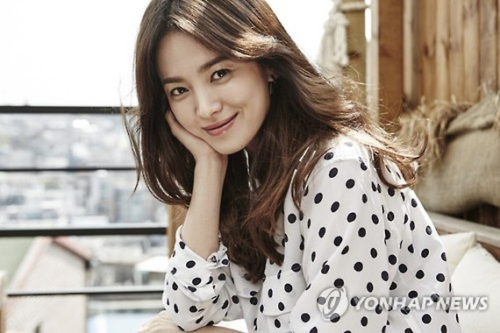 A file photo of actress Song Hye-kyo (Yonhap)