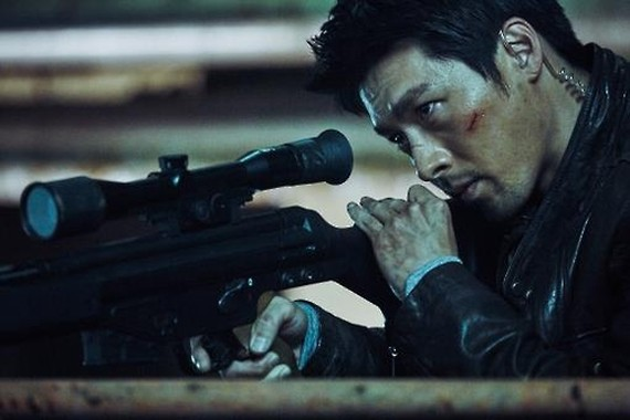 """A still from the Korean action thriller """"Confidential Assignment"""" (Yonhap)"""