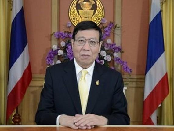 President of the National Legislative Assembly of Thailand Pornpetch Wichitcholchai. — Photo pattayamail.com