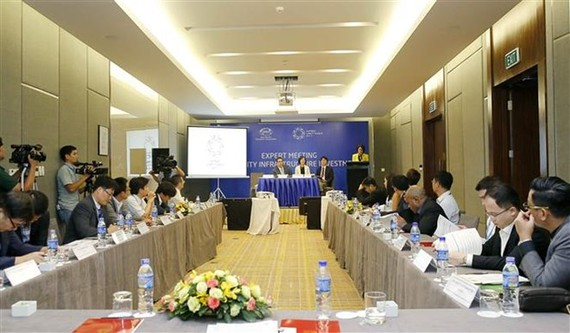 An overview of a workshop organised by the Committee on Trade and Investment (CTI) (Photo: VNA)