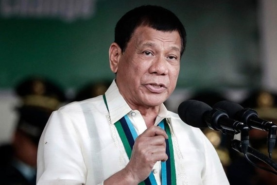 Philippine President Rodrigo Duterte. (Photo: EPA)