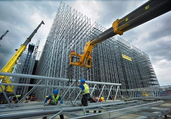 A construction site in Indonesia (Source: Financial Tribune)