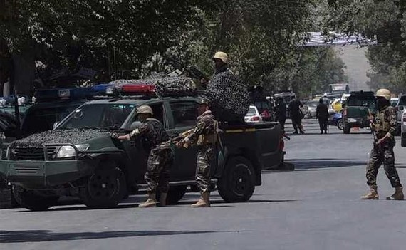 The blast is near a media outlet in Kabul. Afghan media has previously been targeted by militants, underlying the risks faced by journalists in the war-torn country.— AFP Photo