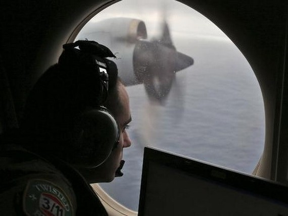 Searching for missing MH370 (Source: CBS News)