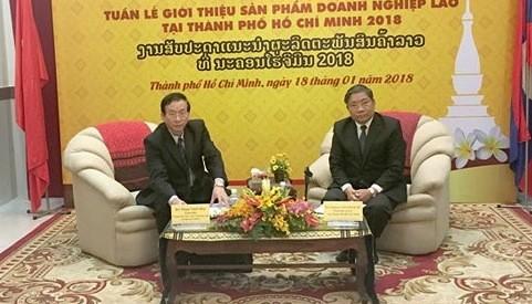 At press meeting Photo: SGGP