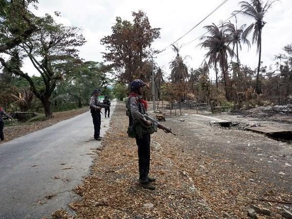 n Myanmar state of Rakhine (Source: AFP)
