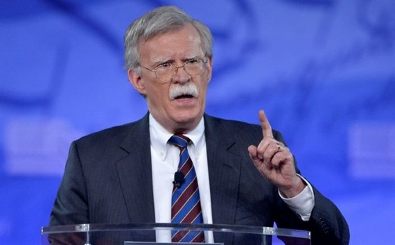 Former US Ambassador to the UN John Bolton speaks at the Conservative Political Action Conference (CPAC) in February. US President Donald Trump named hardline Fox News pundit and former UN ambassador John Bolton as his new national security advisor, ousti