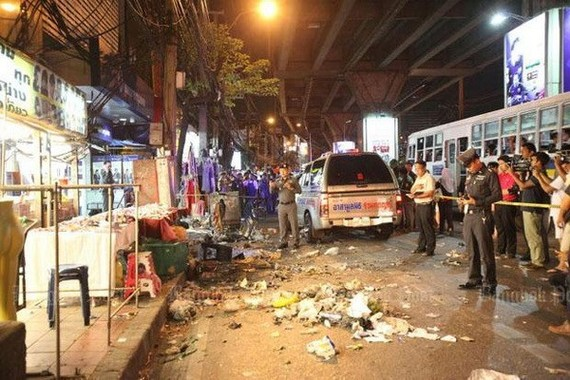 Court upholds sentences over 2013 Bangkok blast
